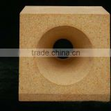 Zircon mullite brick refractory fire brick used for steel furnace