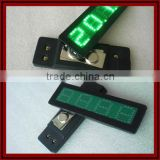 LED Badge Number Board Screen Display Company Name Card for Bar KTV Hotel Store Advertising Board Mall High Brightness Hot