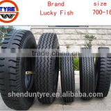 Luckyfish brand 7.00-16 light truck car tire tyre ,LUG,RIB, Guarantee replacement,free repairment,free replacement,free refund