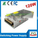 CE switching dc 3.5a 36v power supply for led strip/display screen 36v 120w led power supply