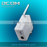 200M Wallmount 802.11b/g/n 150M Wireless Powerline Ethernet Adapter Network Bridge AP(Wall plug PLC,wifi Homeplug)