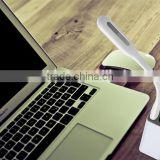 Rechargeable folding USB led reading lamp led lighter for iphone 6 and Samsung