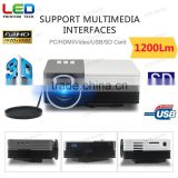 Multimedia USB AV HDMI VGA Home Theater LED Digital Video Game Pico Support 1080p Hd Mini Projector Perfect for Home Movie