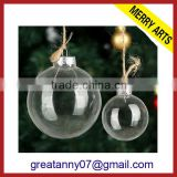 2014 hot sale cheap christmas ornaments balls multifunctional Christmas ball transparent plastic clear christmas balls wholesale