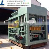SLL on hot sale equipment durbale hollow concrete hollow blocks machine