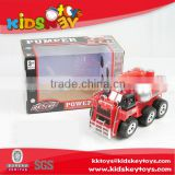 New kids toys for 2015 battery operated car fire truck plastic electric car fire truck