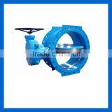 Ductile iron Double eccentric Flanged butterfly valve DN400