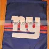 NY New York Giants Back Pack or Sack Drawstring Bag