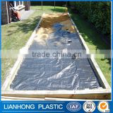 Agricultural PP weed control mat, heavy duty woven black anti weed mat                                                                                                         Supplier's Choice