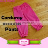 New Fashion Corduroy Children Pants Boys and Girls Casual Trousers Kids Pants