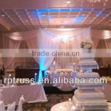 2014 RP Pipe And Drape Kits Star Fairy Lighting Stage Backdrop Pipe And Drape