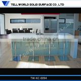 modern top quality elegant artificial marble kitchen worktops