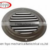 304 Stainless Steel Round Louvered Vents
