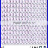Anti electromagnetic radiation silver fiber fabric