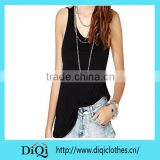 Sexy backless women tank tops black sling sleeveless fashion vests slim low-cut simple solid women summer tops
