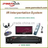 Panvotech wireless interpreter systems WCM-8600