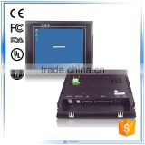 8 inch HMI ARM based corte x A8 embedded low-power cpu win ce system rs485/rs232 industrial touch screen panel pc