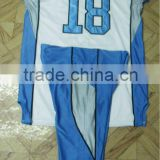 complete Uniforms 100% polyester tackle twill American Football Uniform