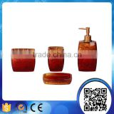 hotel luxurious ceramic bathroom accessories sets                                                                                                         Supplier's Choice