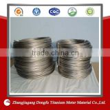 Gr2 Titanium Wire Shape Memory Alloy Wire                                                                         Quality Choice