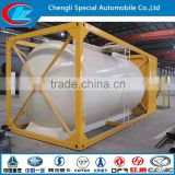 Top safety LPG tank container ASME Standard LPG ISO tank container hot sale propane gas container