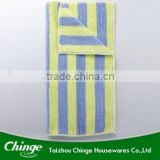 Micro Fiber cleaning cloth with strip