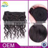 2014 Wholesale soft virgin baby curl human hair