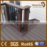 new colour mixing wood plastic composite synthetic lumber/timber decking