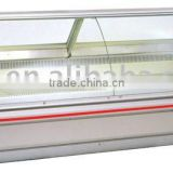 Supermarket refrigeration cabinet for meat