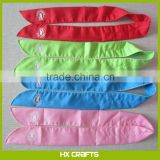 Customized Logo Cold Therapy Cooling Neck Wrap Scarf Cooling Bandana Body Cooling Scarf