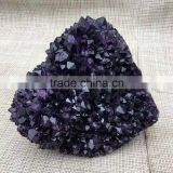 Wholesale amethyst grape crystaer cluster for decoration