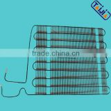Custom Iron Wire Bundy Tube Condenser For Refrigerator With Cathode Electrophoresis Coating