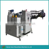 Medium high temperature polyurethane pu elastomer casting machine for roller for Mesh Screen Production Line