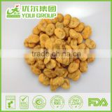 Wholesale Fried Broad Bean Snacks BBQ Dry Fava Bean For Sale