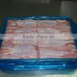 Frozen rabbit meat bone-in skinless