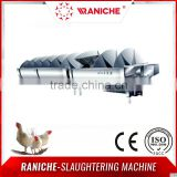 Chicken Abattoir Slaughter Equipment/ 6M Screw Pre-chilling Machinery