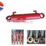 bore 2.5 inch rod 1inch stroke 28inch double acting small welded Hydraulic cylinders for trailer manufacturer