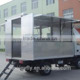 caterng food cart for sale with different function fiberglass enclosed trailers