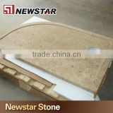 Prefab Natural Marble Shower Tray