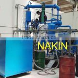 JZC motor oil recycling machine/engine oil regeneration plant/black oil distillation plant