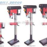 Mortiser and Drill Press ZQJ4119,ZQJ4119A,ZQJ4125-1,ZQJ4125 with Chuck:size 3-16mm and Spindle travel 80mm