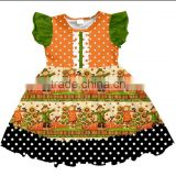 New Item Halloween kid garment baby clothes boutique Halloween baby dress