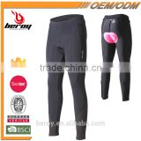 BEROY New Breathable Compression Women Gel Padded Bike Pants Cycling Clothes Tights