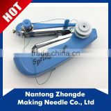 Home use hand operated sewing machine