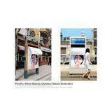 Outdoor wide format bus shelter advertising,advertisements banner printing agency