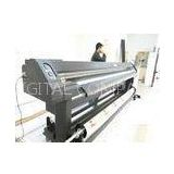 Professional Fabric Large Format Solvent Printer With RIP Software