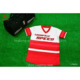 Red Color Youth Baseball Jersey Top Uniform Shirts