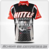 racing shirt,custom racing shirt,custom motor wear sublimation racing shirt pit crew shirt