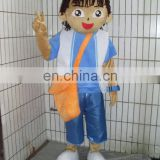 Lovely boy mascot costume,used mascot costumes for sale