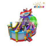 New design Alien inflatable amusement park, Alien inflatable bouncy house for kids and toddle